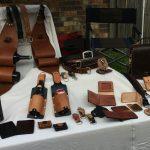 OMG Leatherwork Booth.